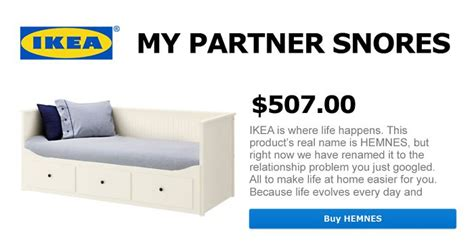 IKEA Renames Products After Most Googled Relationship ...