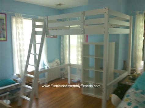 ikea stora loft bed assembled in raleigh NC by Furniture ...
