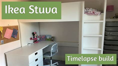 Ikea Stuva assembly   how to build the loft bed, in time ...