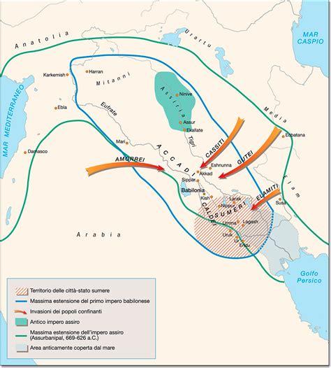"""Il termine Mesopotamia significa """"terra tra due fiumi"""", i ..."""