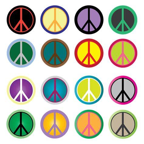 Illustration gratuite: Signe De La Paix, La Paix, Hippie ...