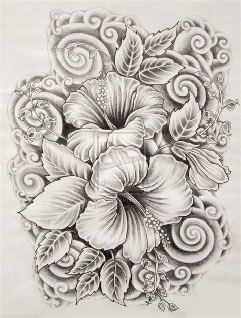 ilove drawings: Beautiful Flower Drawings and Realistic ...