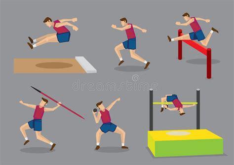Ilustração Do Vetor Dos Esportes Do Atletismo Ilustração ...