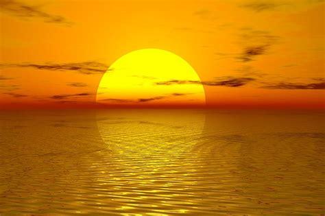 Ilustración gratis: Puesta De Sol, Sol, Verano   Imagen ...