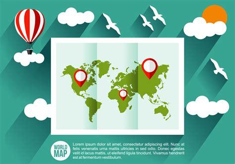 Ilustración vectorial Mapa Mundi - Descargue Gráficos y ...