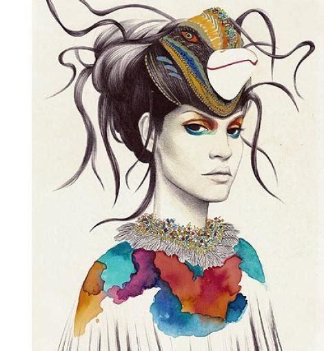 Ilustraciones de moda - Cacara