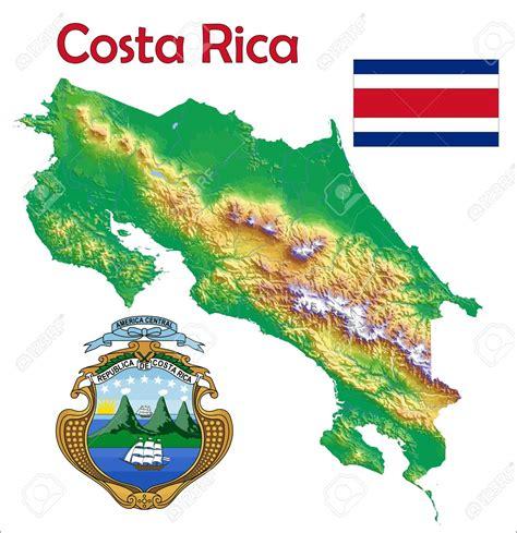Image   37748453 Costa Rica escudo de bandera de mapa Foto ...