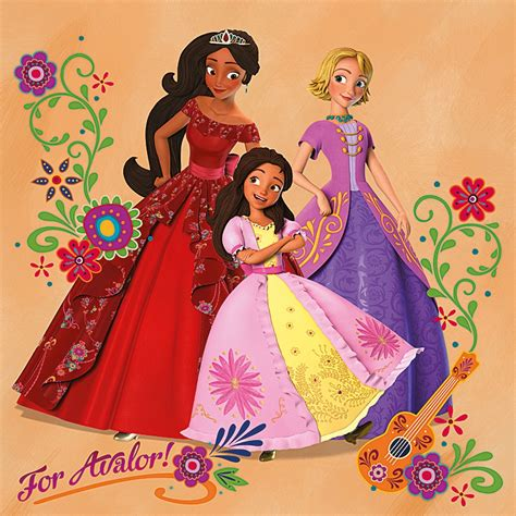 Image - Elena, Isa and Naomi.jpg   Disney Wiki   FANDOM ...