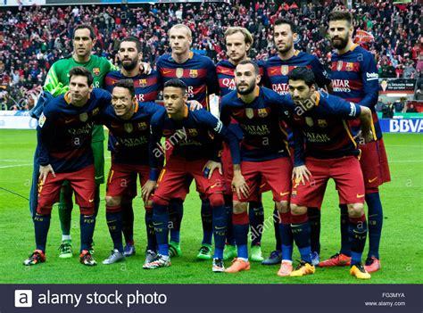 Image Gallery Barca 2016 Team