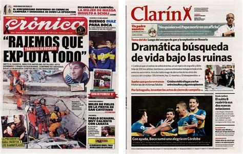 Image Gallery diarios argentinos