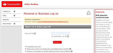Image Gallery E banking Santander
