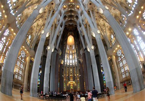 Image Gallery interior sagrada familia barcelona
