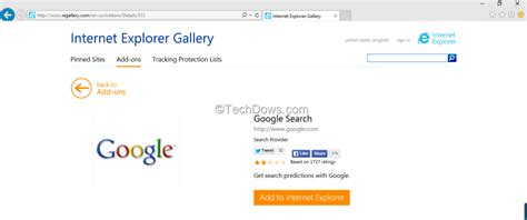 Image Gallery internet explorer google search