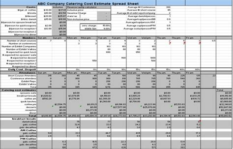 Image Gallery Job Costing Excel Template | Inzare : Inzare