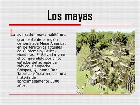 Image Gallery los mayas historia