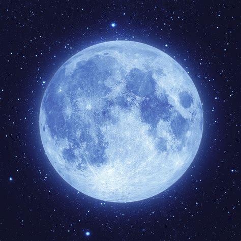 Image Gallery luna llena azul