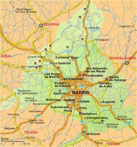 Image Gallery madrid espana mapa