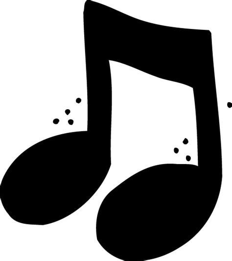 Image Gallery notas musicales para colorear