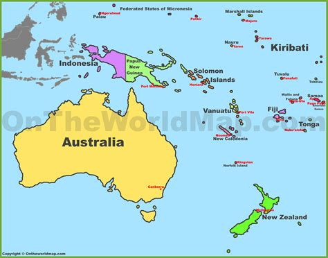 Image Gallery Oceania Countries