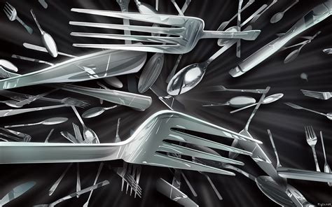 image HD Fourchette ustensile de cuisine 2560x1600 pixel