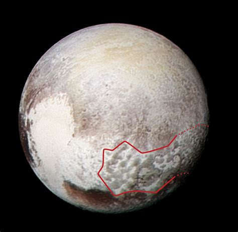 Image: Pluto s bladed terrain in 3 D