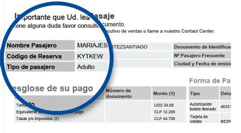 Imagen con ejemplo de código de reserva en la confirmación ...