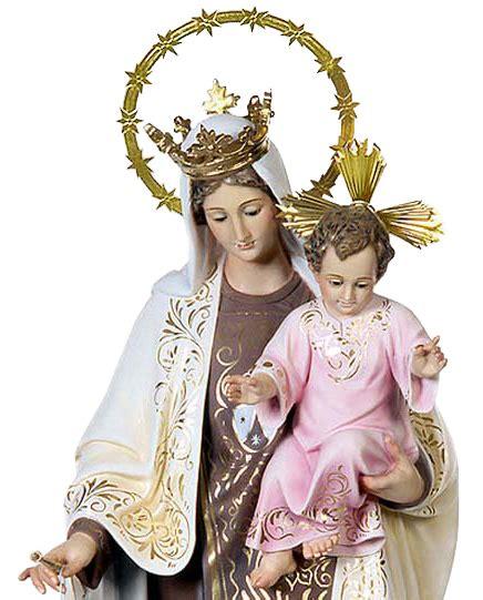 Imagen de la Virgen del Carmen - Imagen Olot Virgen del Carmen