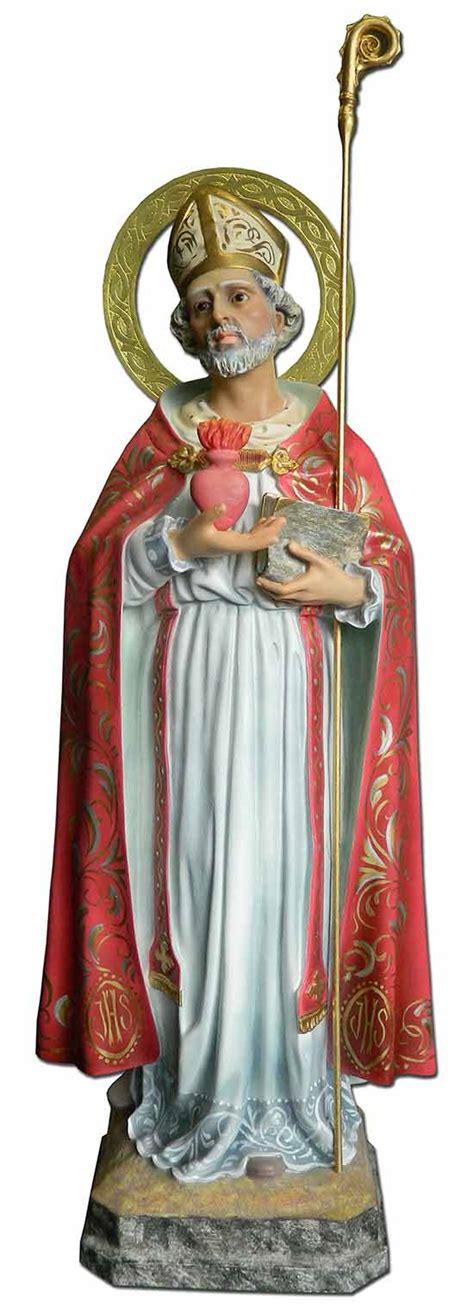 Imagen religiosa de San Agustin de Hipona, Doctor de la ...