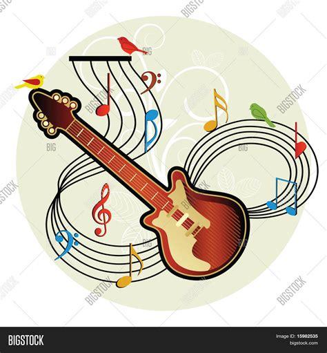 Imagen y foto Follaje De Aves De Notas Musicales | Bigstock