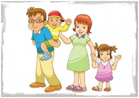 Imagenes Animadas de Familias Felices   Imagenes de Familia