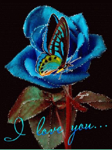 Imagenes Animadas De Una Rosa Con Una Mariposa Y La Frase ...