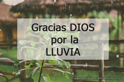 Imagenes Cristianas: Gracias Dios por la lluvia