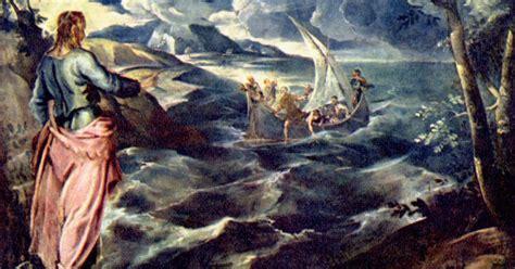 Imágenes: Cristo camina sobre el lago Tiberiades