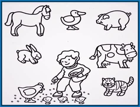 imagenes de animales dela granja para colorear Archivos ...