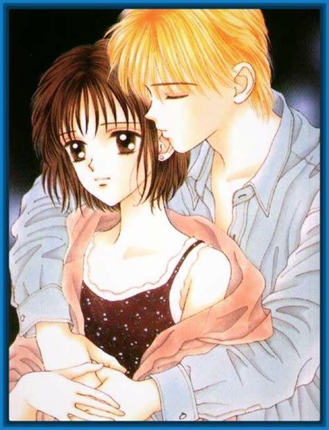 Imagenes de anime de enamorados con frases de amor ...