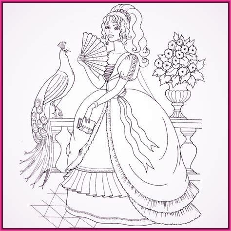 imagenes de barbie escuela de princesas para colorear ...