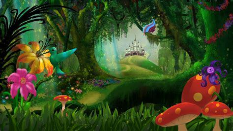 Imágenes de bosques animados - Imagui