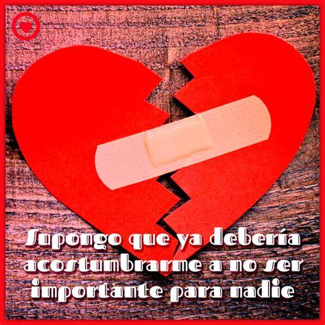 Imagenes De Corazones Rotos Con Frases De Amor | Frases De ...