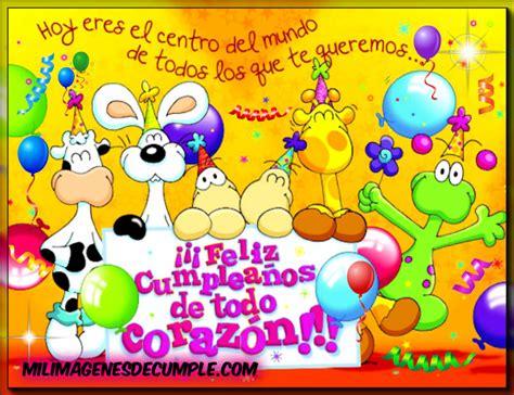 Imágenes de cumple: Feliz cumpleaños de todo corazón ...