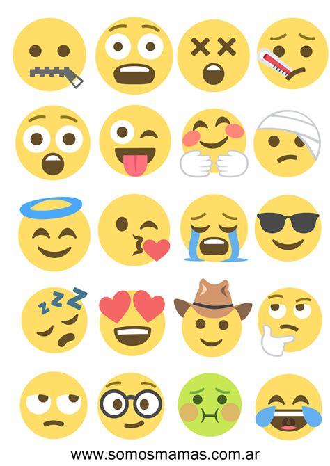 Imágenes de emojis para imprimir, jugar y decorar ...