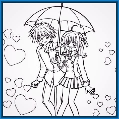 Imagenes de enamorados animes y también para dibujar ...