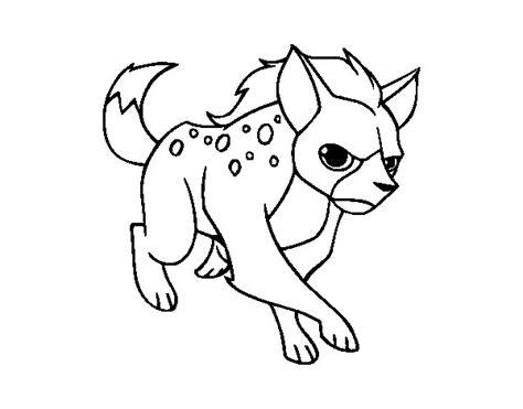 Imagenes de hiena para calcar - Imagui