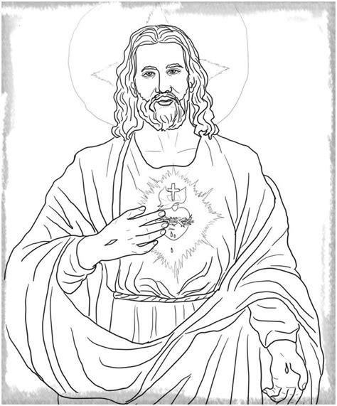 Dibujos De Jesus Para Colorear Cantineoqueteveo