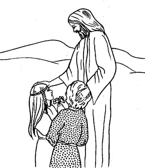 Imagenes de Jesus para colorear e imprimir