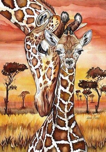 imagenes de jirafas bebes animadas   Imagenes de la ...