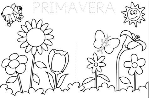 Imágenes de la primavera dibujos para colorear   Colorear ...