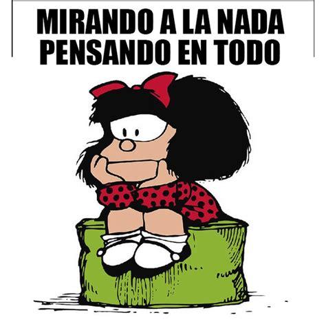 Imágenes de Mafalda con Frases   Reflexión   para Perfil ...