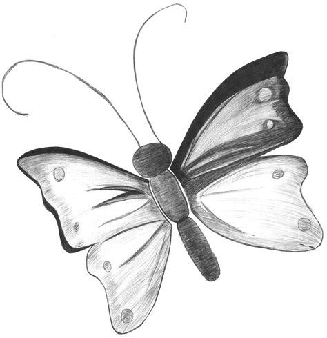 Imagenes de mariposas dibujadas a lapiz   Imagui