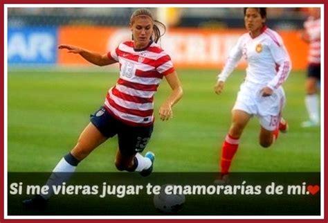 Imagenes de Mujeres Futbolistas con Frases   Imagenes Del ...