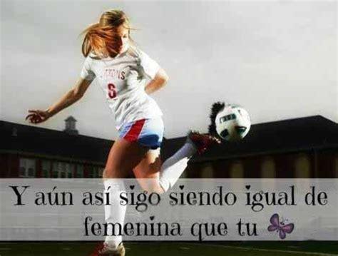 imagenes de mujeres jugando futbol con frases 2 | frases ...